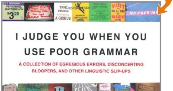 Grammar Book : Give the gift of humor that only a true