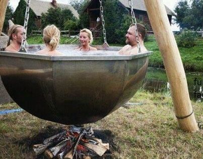 I can see this kind of hot tub in my future. ML: