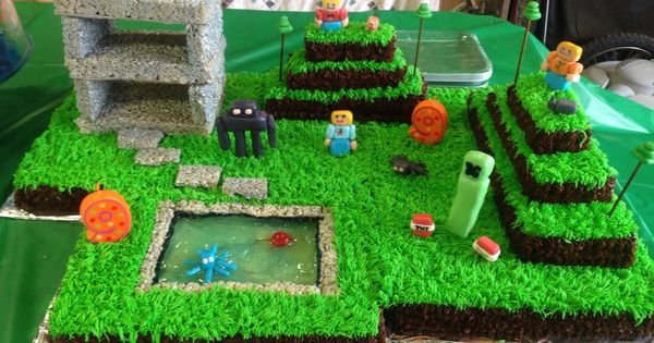 how to cook that minecraft village cake