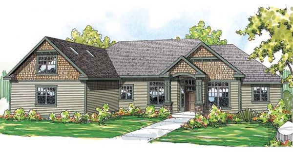 Country Cottage House Plan With 2837 Square Feet And 3