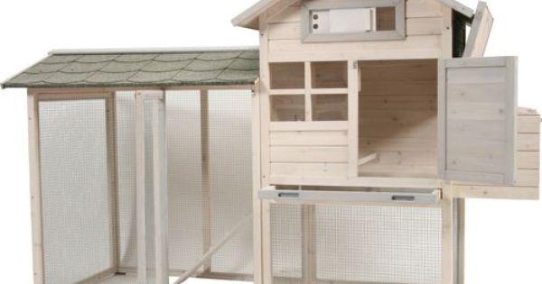 Pour acheter votre poulailler villa en bois 227x94x150cm for Acheter villa pas cher