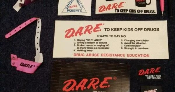 Drug abuse resistance education and post