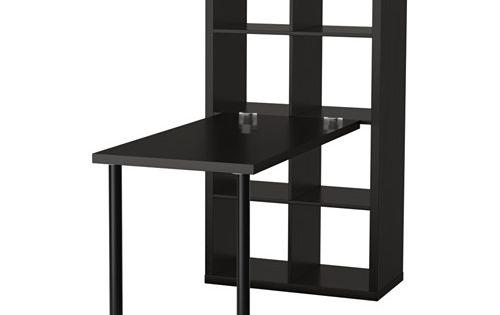kallax bordkombination sortbrun b rnev relser farve og ikea. Black Bedroom Furniture Sets. Home Design Ideas
