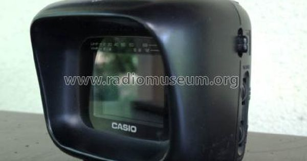 Casio Computer Co Lcd Pocket Color Television Tv 570 From Sandor Selyem Toth 1 Color Television Television Tv Tv