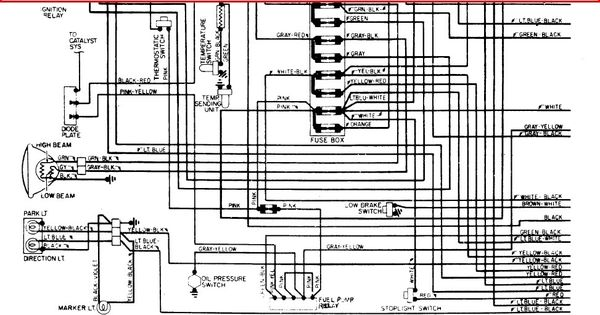 1975 Corvette Fuse Box Wiring Diagrams Chevrolet C6 2005 2013