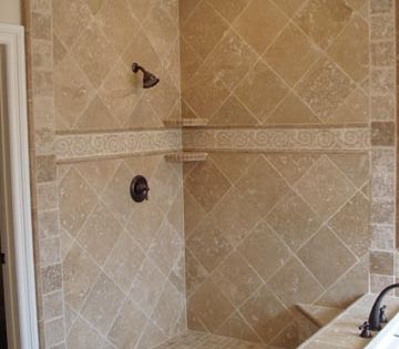 Showers Shower Wall Tile Travertine Shower Shower Remodel