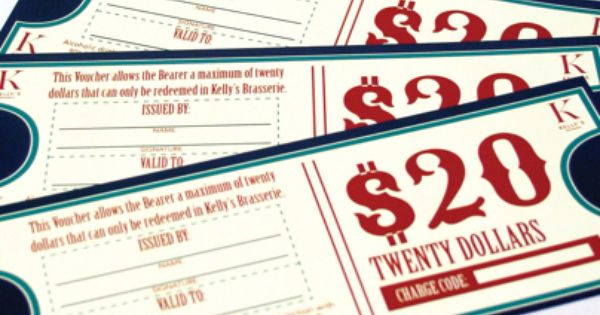 Creating a $20 voucher to be distributed to members who can then - creating a voucher