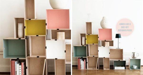 Charmant Bucherregal Systeme Presotto Highlight Wohnraum Ideen ...
