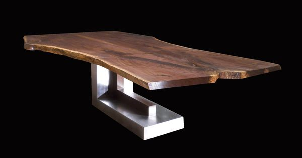 Love This Table Blend Of Rustic And Modernindustrial