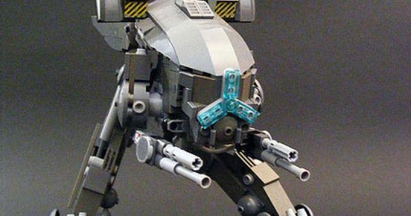 Raging Volt Lego Mech. lego mech robot