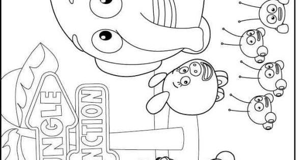 Coloring Page Jungle Junction Coloring Pages Jungle Junction Coloring Pages