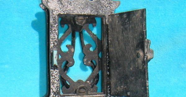 Antique 1910s 1920s 1930s speakeasy door knocker peep door antiques doors and 1930s - Door knockers with peepholes ...