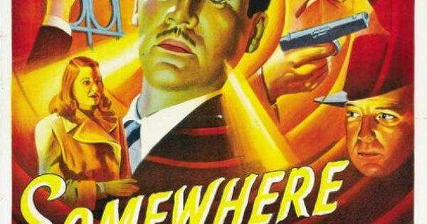 somewhere in the night1946 movie poster film noir