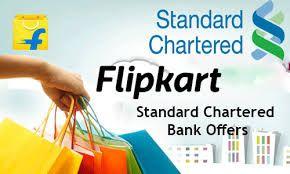 Flipkart Standard Chartered Flipkart Standard Chartered Offer Flipkart Standard Chartered Credit Ca Credit Card Offers Standard Offer
