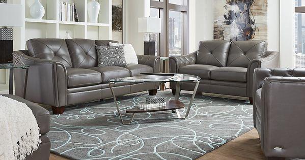 Affordable cindy crawford living room sets rooms to go furniture momcave pinterest room for Cindy crawford living room set
