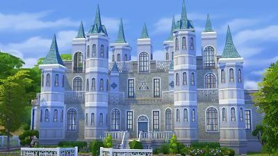 Mod The Sims - Cinderellau0026#39;s Castle : Sims 4 Custom Content : Pinterest ...