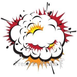 Id 13730 Explosion Cloud Scraps Presentation Clipart Comic Frame Cartoon Characters Cartoon