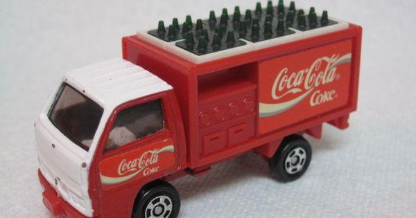 Tomica Coca Cola Truck Coke Little Cars Pinterest