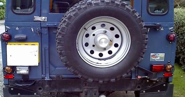 Land Rover Defender Flap Door Defender Pinterest