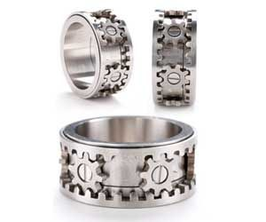 Wallace Oliver Wallaceoliverdh Gear Ring Vintage Engagement Ring Settings Antique Engagement Rings