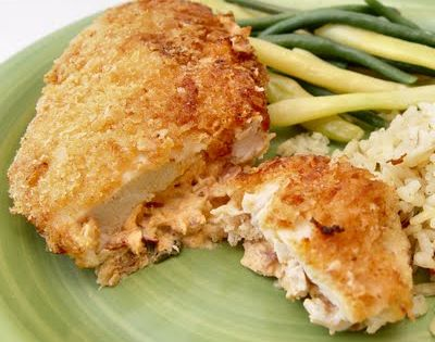 Cream Cheese Stuffed Chicken .....Many yummy recipes at the site....made