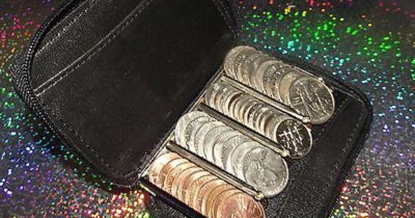 Coin sorter wallet | monedassss | Pinterest | Coin purse ...