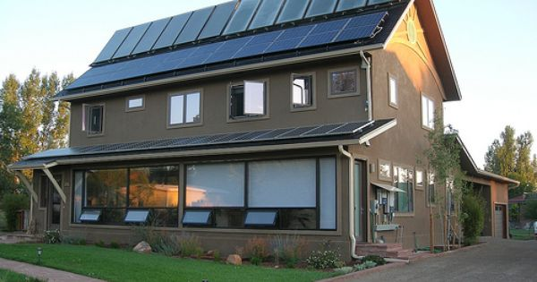 Solar Harvest A Positive Energy Home With Images Zero Energy Building Solar Panel Roof Design Solar