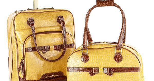 Samantha Brown Luggage Qvc: Samantha Brown 2-piece Cabin Bag And Tote Set. Just
