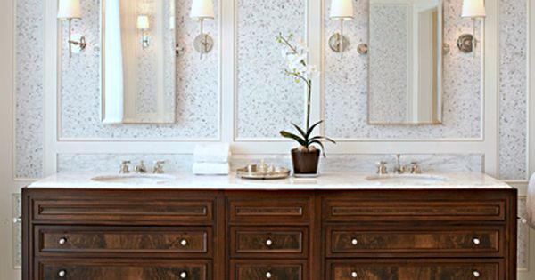 two tone painted finish bathroom bathrooms pinterest vanities