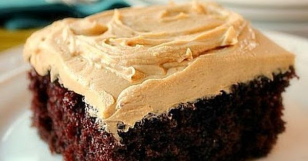 Homemade Chocolate Cake Peanut Butter Frosting: Chocolate Cake With Peanut Butter Frosting 2