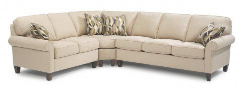 Westside Furniture Living Room Update Fabric Sectional