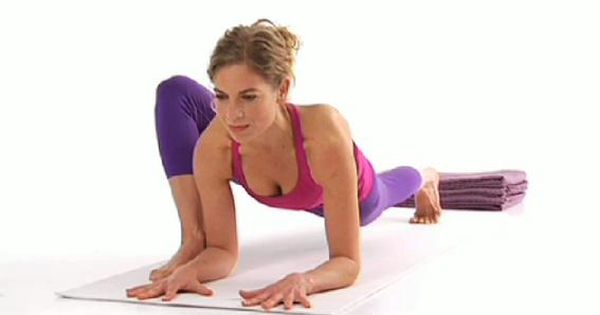 Dragon – great for hip openers and reducing lower back pain. Hold
