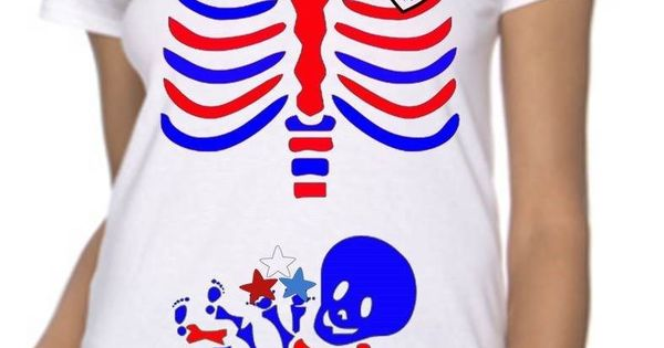 4th of july maternity shirt
