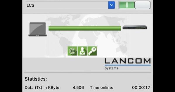 Der Deutsche Netzwerkinfrastrukturausstatter Lancom Systems Stellt Ab Sofort Ein Update Fur Seinen Software Vpn Client Fur Macbook Pro Imac Mac Pro Co Bere