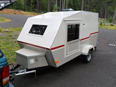 Building A Small Lightweight Camping Trailer Small Camper Trailers Lightweight Camping Trailers Teardrop Trailer Plans