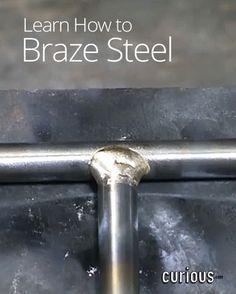 How To Braze Steel In Metalworking Brazing Welding Projects Metal Working