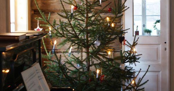 Seasonal Christmas An Old Fashioned Christmas Tree For