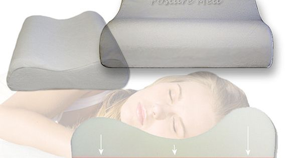 This Posture Med Pillow Is Recommended For Neck Pain And