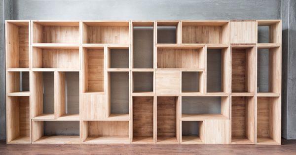 Ook voor een kastenwand op maat kunt u bij dekker interieur aankloppen of het nu een kastenwand - Bibliotheques ontwerp ...