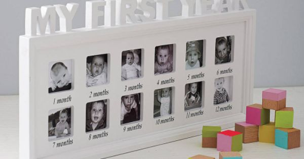 my first year 39 photo frame baby showers and gift ideas pinterest