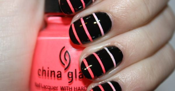 DIY Nail Ideas: Striped Nail Art And More Of Our Weekend Manicures