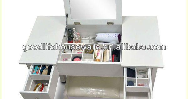 Di legno arredamento camera da letto vanit trucco com - Ikea specchio trucco ...