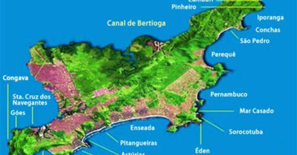 Mapas De Guaruja Sp Com Imagens Guaruja Praia Guaruja Sp Praia