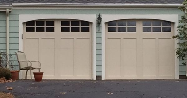 Clopay coachman in almond installed in simsbury ct for Buy clopay garage doors online