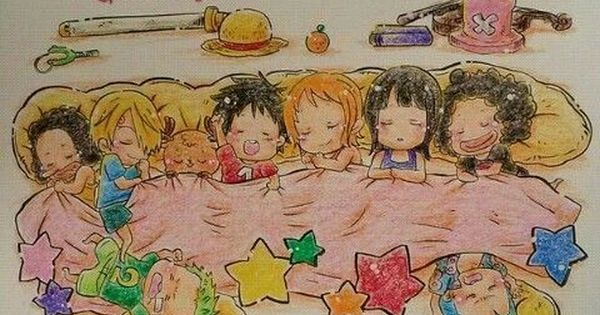 bonne nuit dessin one piece one piece manga anime