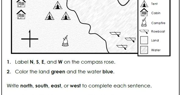 Check out this worksheet from our map skills page to help students