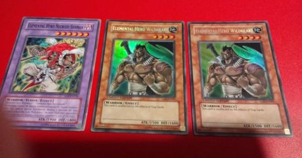 Yugioh Card Elemental Hero Necroid Shaman EOJ-EN036