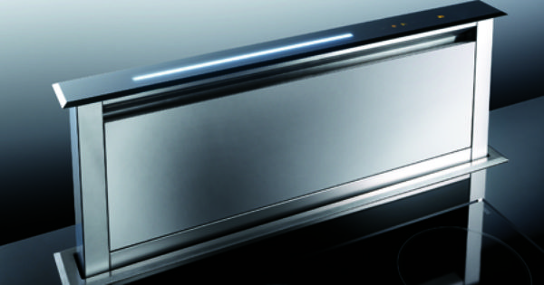 The Lift By Smeg Indesignlive Extractor Hood Downdraft Extractor Kitchen Ventilation