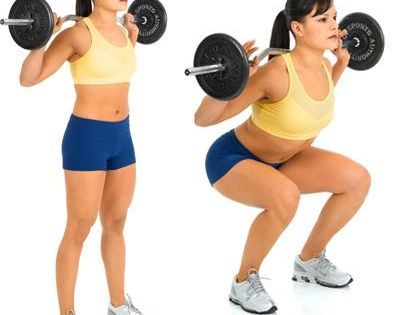 Surprise! The barbell squat is one of the best abs exercises of