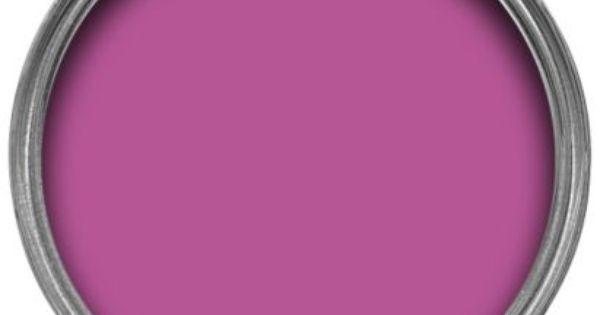 Dulux Endurance Matt Emulsion Paint Fuschia Pink 2.5L #letscolour : COLOR : Pinterest : Dulux ...